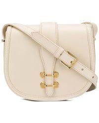 Alberta Ferretti Albi Shoulder Bag - Natural