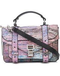 Proenza Schouler Bolso satchel PS1 Tiny Anniversary Edition - Rosa
