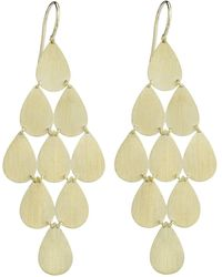 Irene Neuwirth - Teardrop Chandelier Earrings - Lyst