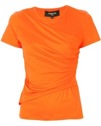 Paule Ka - ドレープ Tシャツ - Lyst