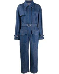 Maison Margiela デニム ジャンプスーツ - ブルー