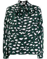 Essentiel Antwerp プリントシャツ - グリーン
