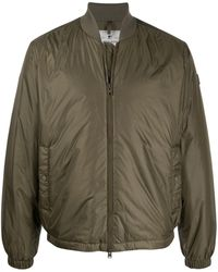 Woolrich Padded Bomber Jacket - Green