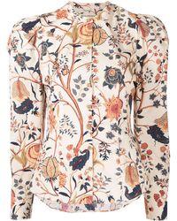 Ulla Johnson Floral Print Shirt - Multicolour