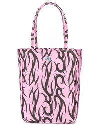 Ashley Williams Tattoo-print Tote Bag - Purple