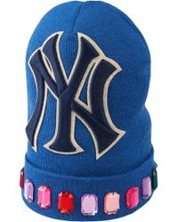 Gucci - Gorro de Lana con Parche NY YankeesTM - Lyst