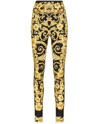 b2aad604b8 Women's Versace Trousers Online Sale - Lyst