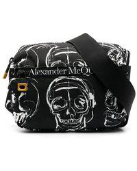 Alexander McQueen Heuptas Met Doodskop - Zwart