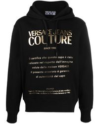 Versace Jeans Couture ロゴ パーカー - ブラック