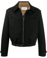 Lemaire ポイントカラー ボンバージャケット - ブラック