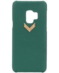 Manokhi X Velante Samsung S9 Case - Green