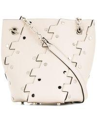 Proenza Schouler - Studded Mini Hex Bucket Bag - Lyst
