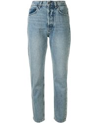 Anine Bing Sonya Slim-fit Jeans - Blue