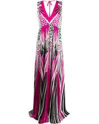 Just Cavalli カラーブロック ドレス - ピンク