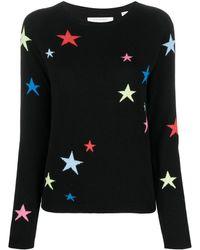 Chinti & Parker スターインターシャ セーター - ブラック