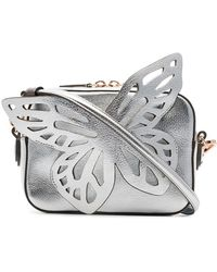 Sophia Webster - Silver Butterfly Leather Cross-body Bag - Lyst