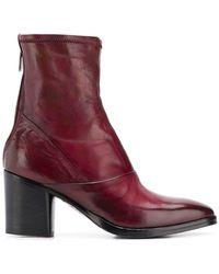 Alberto Fasciani - Ursula Heeled Ankle Boots - Lyst