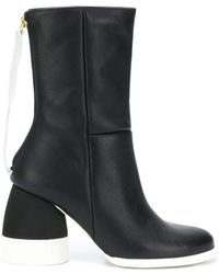 Paloma Barceló - Block Heel Ankle Boots - Lyst