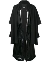 Raf Simons オーバーサイズ コート - ブラック
