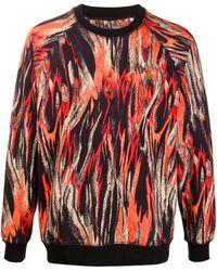 Vivienne Westwood プリント スウェットシャツ - オレンジ