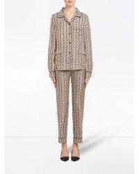 Prada Пижама С Принтом - Многоцветный