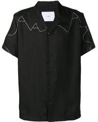 Goodfight Bowling Overhemd Met Pailletten - Zwart