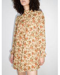 Reformation Платье Jourdan С Цветочным Принтом - Многоцветный