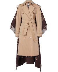 Burberry Katoenen Trenchcoat - Bruin