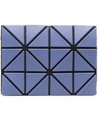 Bao Bao Issey Miyake Prism Panelled Wallet - Blue