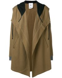 Lost and Found Rooms - Parka Cardigan Coat - Lyst
