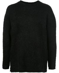 Saturdays NYC テクスチャード セーター - ブラック