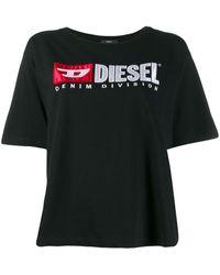 DIESEL ロゴ Tシャツ - ブラック