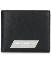 Heron Preston 二つ折り財布 - ブラック