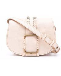 Ba&sh Teddy Crossbody Bag - Pink