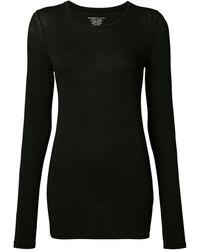 Majestic Filatures ロングスリーブtシャツ - ブラック