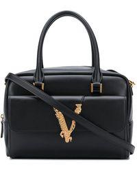Versace Маленькая Сумка-тоут Virtus - Черный