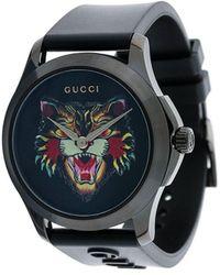 Gucci G-timeless Watch - Zwart