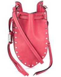 Isabel Marant Radji Mini Bag - Red