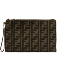 Fendi - Canvas Buidel - Lyst