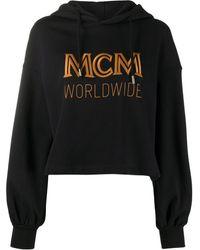 MCM ロゴ パーカー - ブラック
