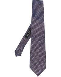 Etro Cravate imprimée - Bleu