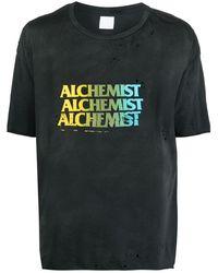 Alchemist - ダメージ ロゴ Tシャツ - Lyst