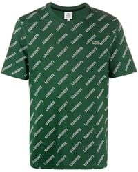 Lacoste L!ive ロゴ Tシャツ - グリーン