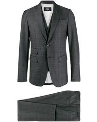 DSquared² チェック スーツ - マルチカラー