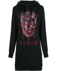 Philipp Plein - Hooded Skull Dress - Lyst