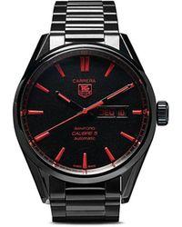 Bamford Watch Department リモデル Tag Heuer Carrera Calibre 5 40mm - ブラック