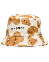 Palm Angels Панама Broken Из Коллаборации С Browns 50 - Многоцветный