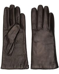 P.A.R.O.S.H. Crinkle-effect Gloves - Brown