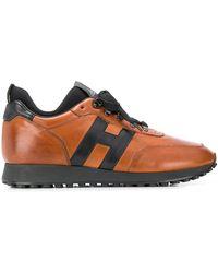Hogan H383 Low-top Trainers - Brown