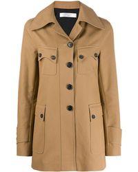 Victoria Beckham ポケット シングルコート - ナチュラル